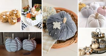 Fabric Pumpkin Decorations