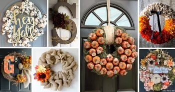 Fall Door Wreath Ideas