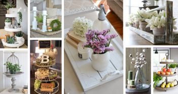 Farmhouse Style Tray Designs