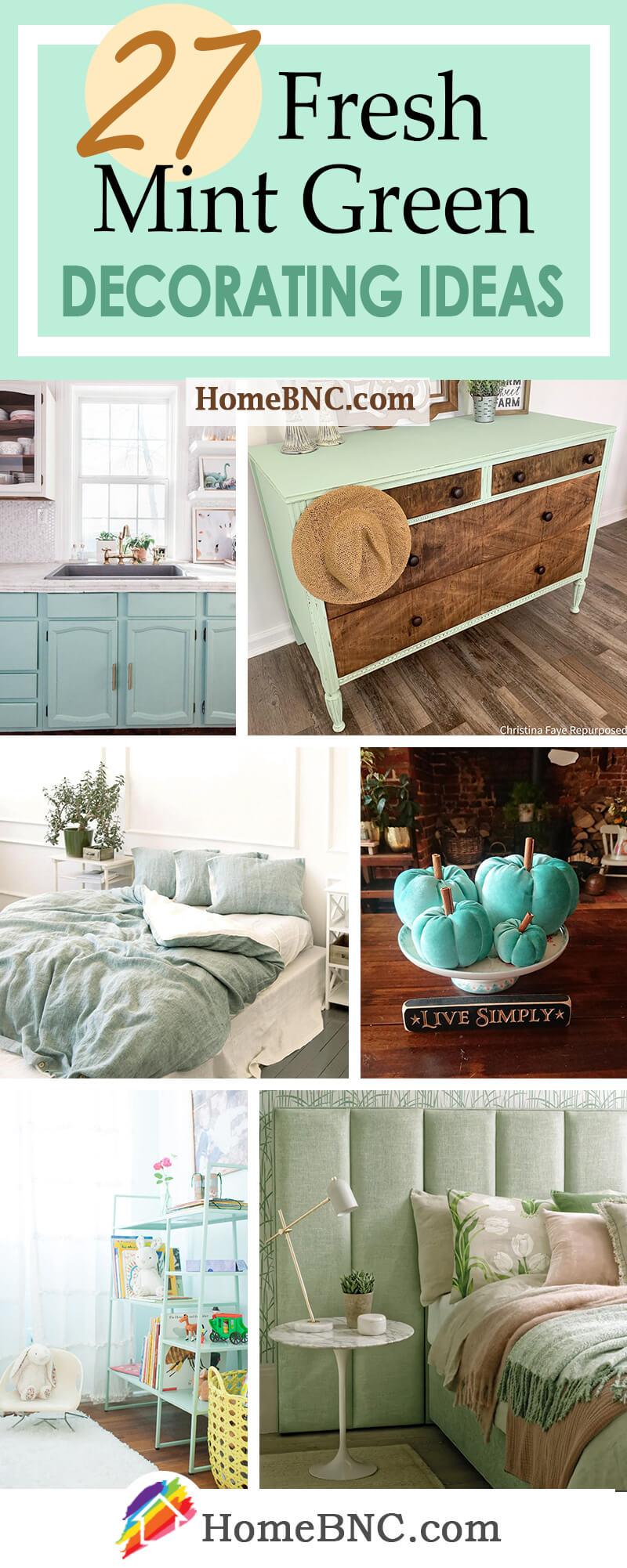 Mint Green Home Decor Ideas