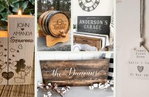 Personalized Home Decor Gifts