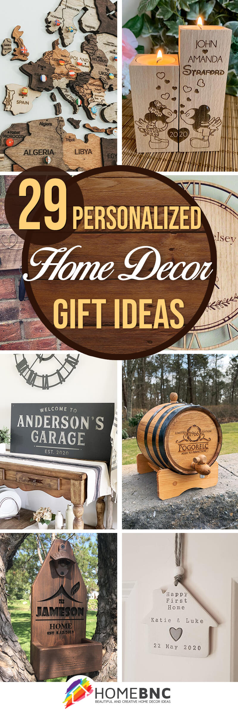 29 Best Personalized Home Decor Gift Ideas Your Family Will Love In 2021