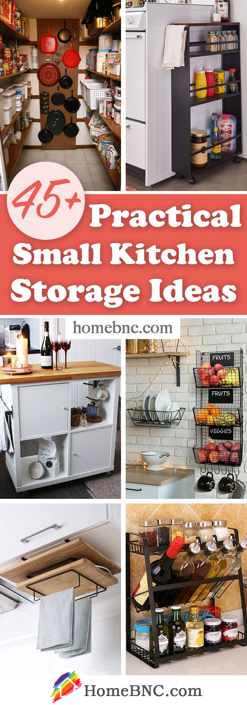 45 Best Small Kitchen Storage Organization Ideas And Designs For 2021