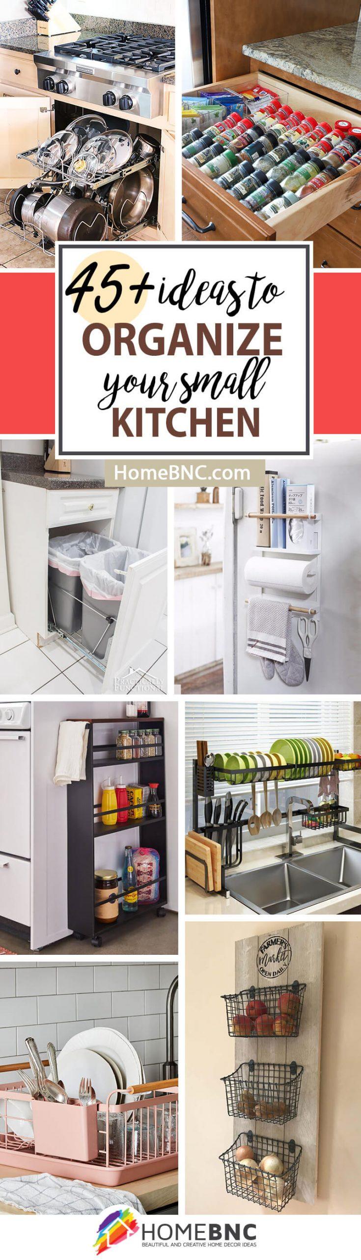 45 Best Small Kitchen Storage Organization Ideas And Designs For 2021