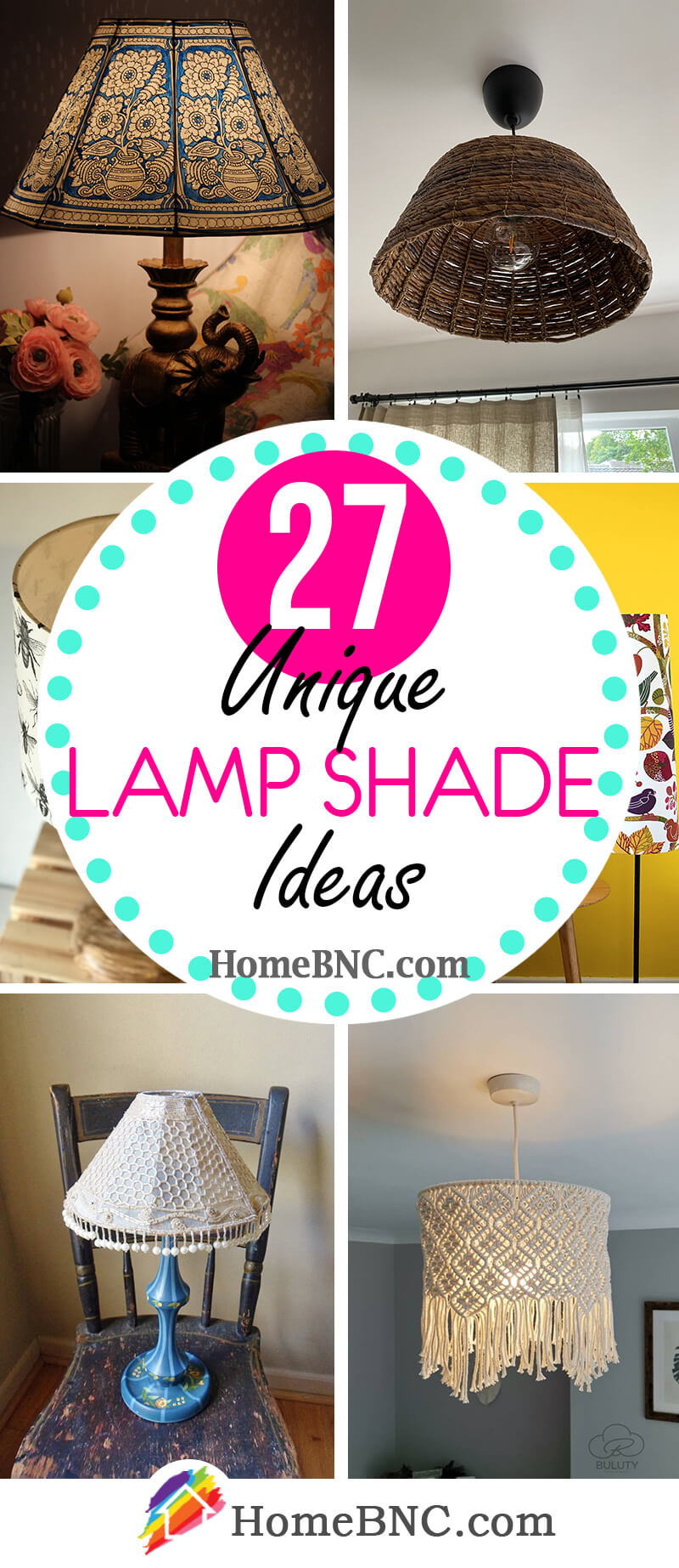 27 Best Unique Lamp Shades That Will Make Any Room Prettier In 2021