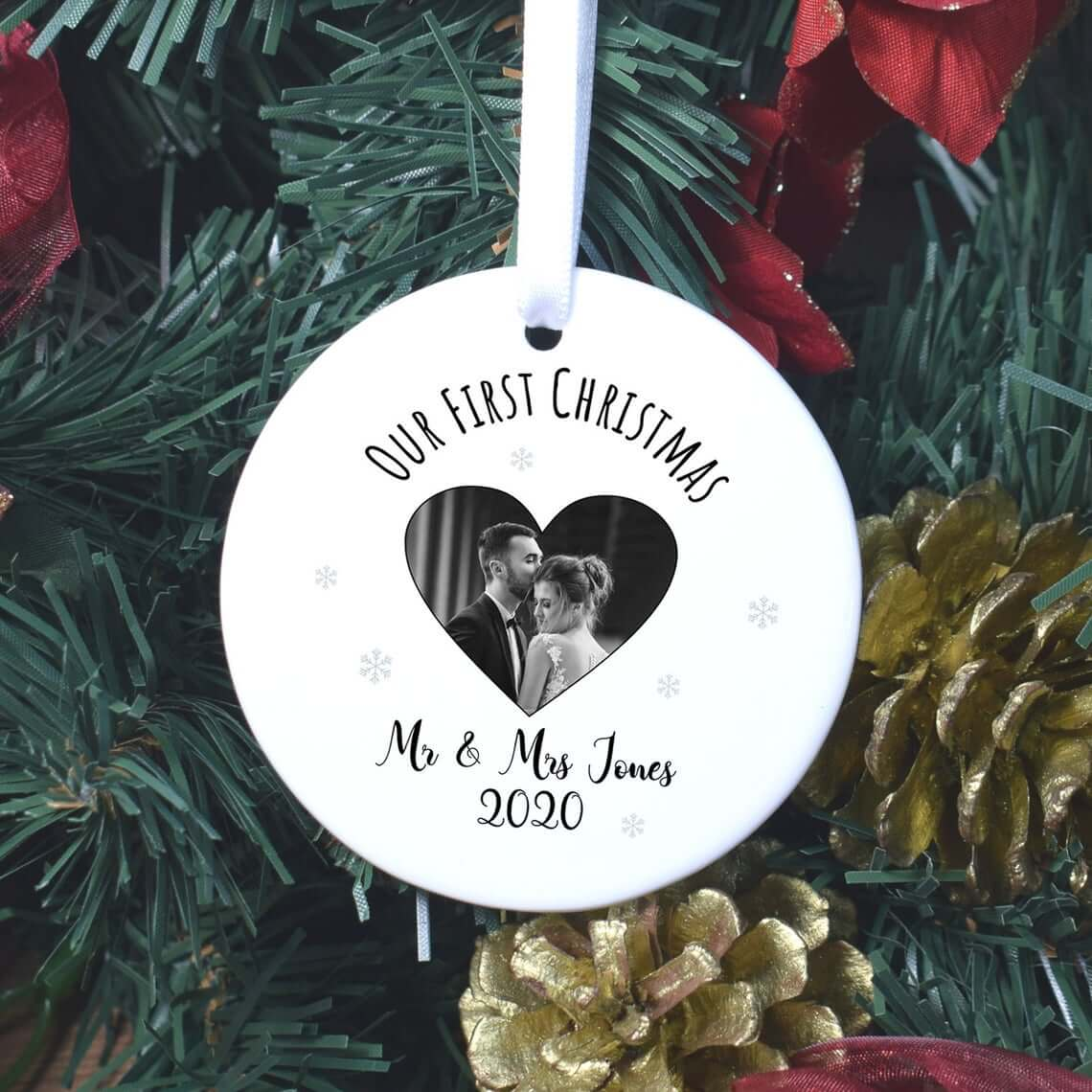 Sentimental First Christmas Together Bauble