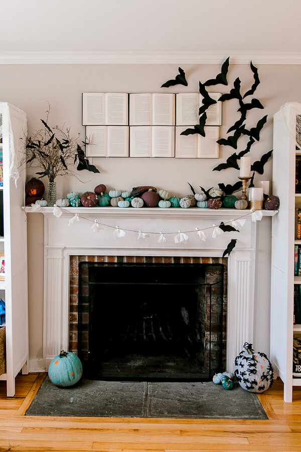 Spooky Ghosts and Paper Bats