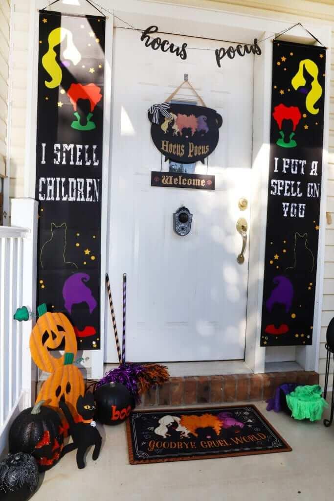 Hocus Pocus, Movie Theme, Halloween Front Porch