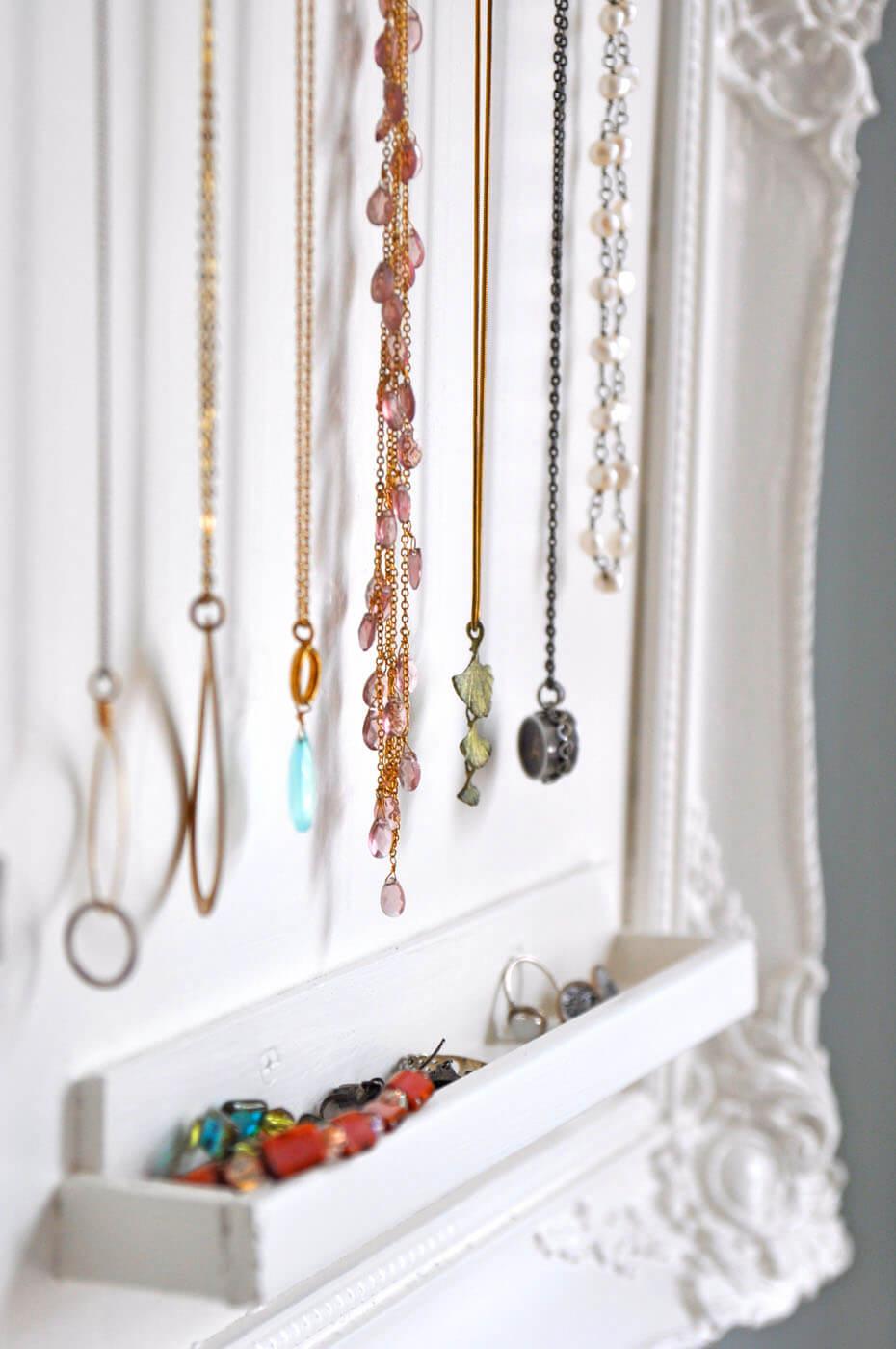 Unique Hanging Faux Jewelry Box