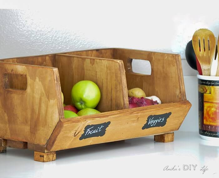 Cute and Compact Table Top Crate