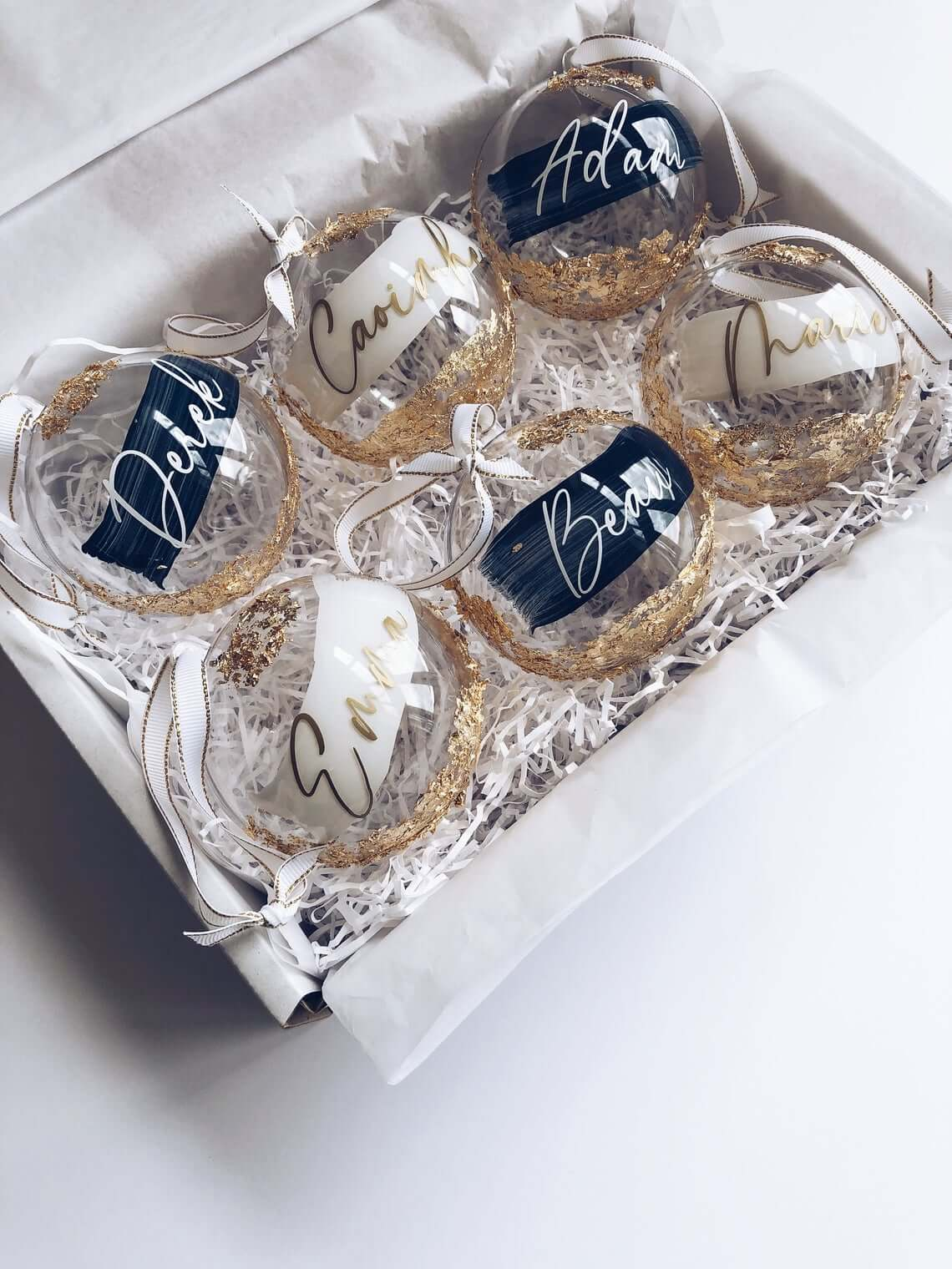 Clear Customized Bauble Gift Box