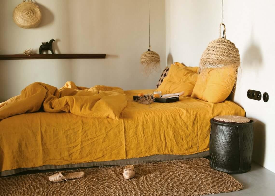 Modern Native Villager Inspired Bedroom Decor