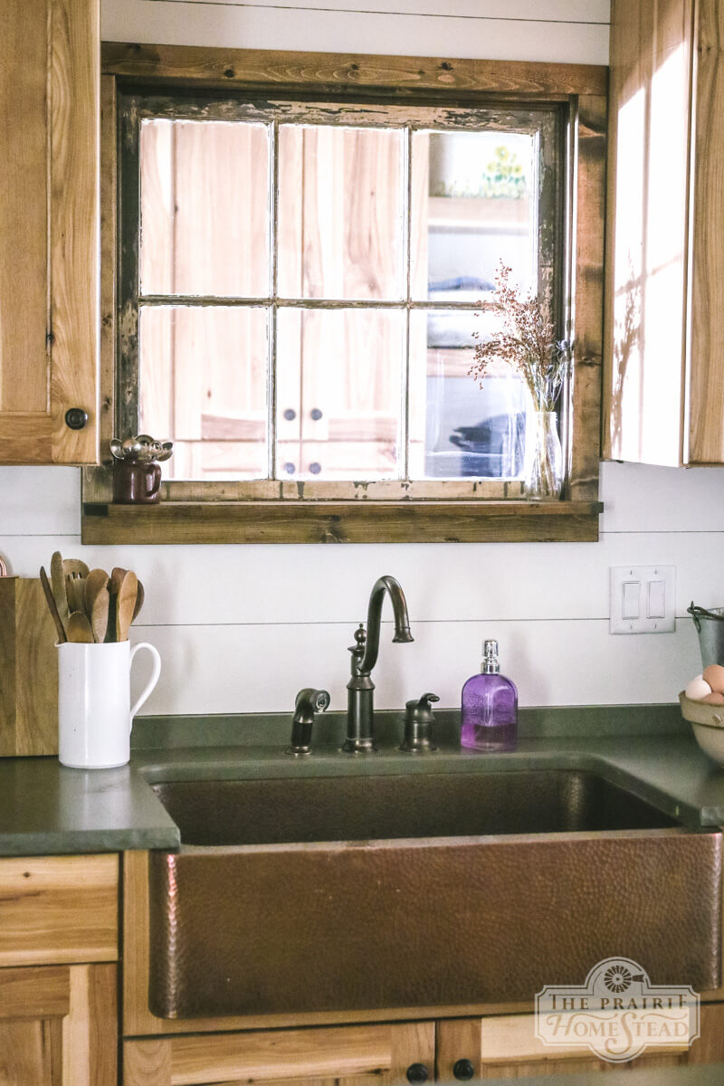 Rustic Wooden Cabinets and the All-Important Ship-lap