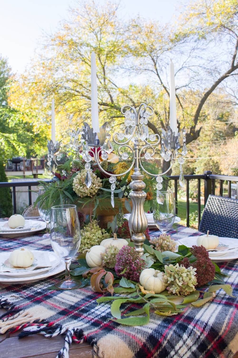 Elevate the Elegance Outdoors with Plaid
