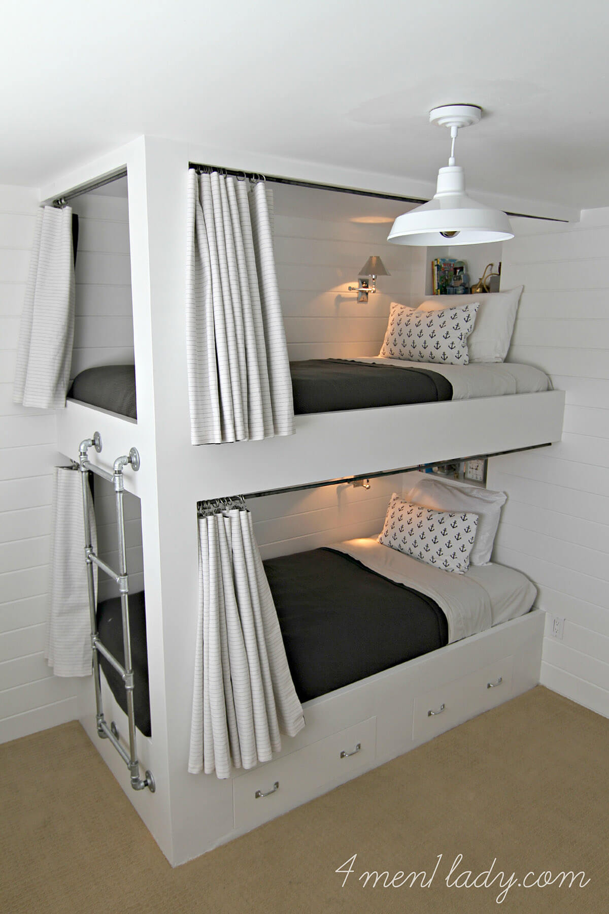 The Beauty of Built-In Bunk Beds