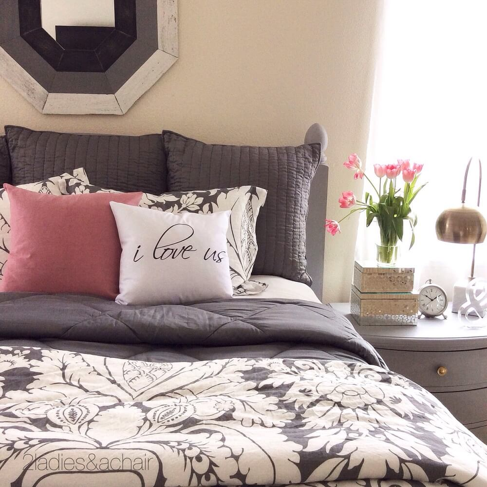 I Love Us Master Bedroom Accent Pillow