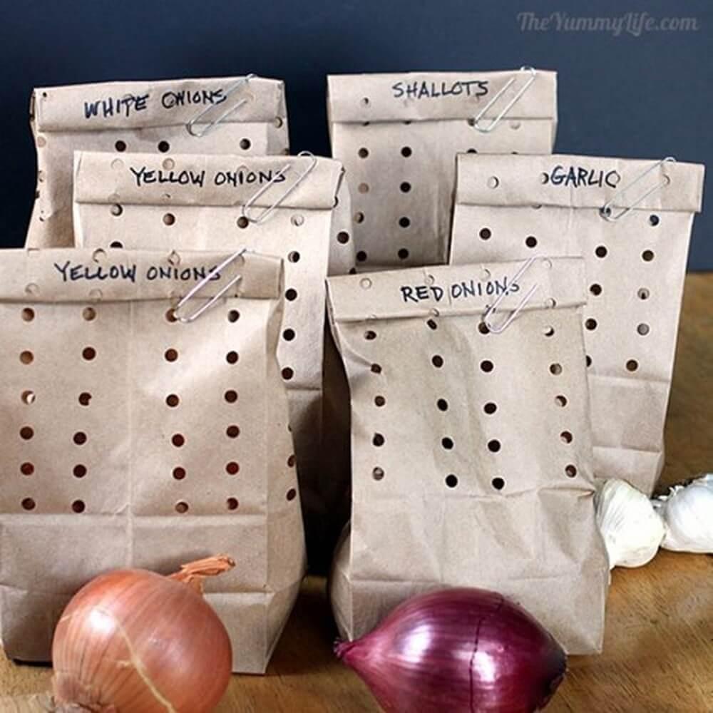 The Brown Bag Kitchen Storage