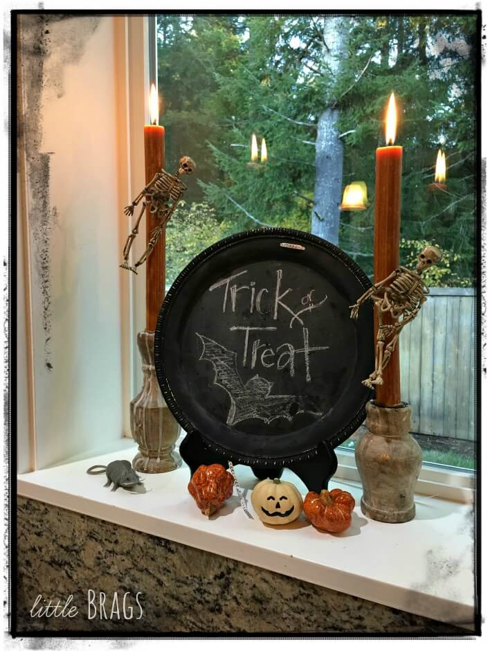 Trick or Treat Kitchen Vignette