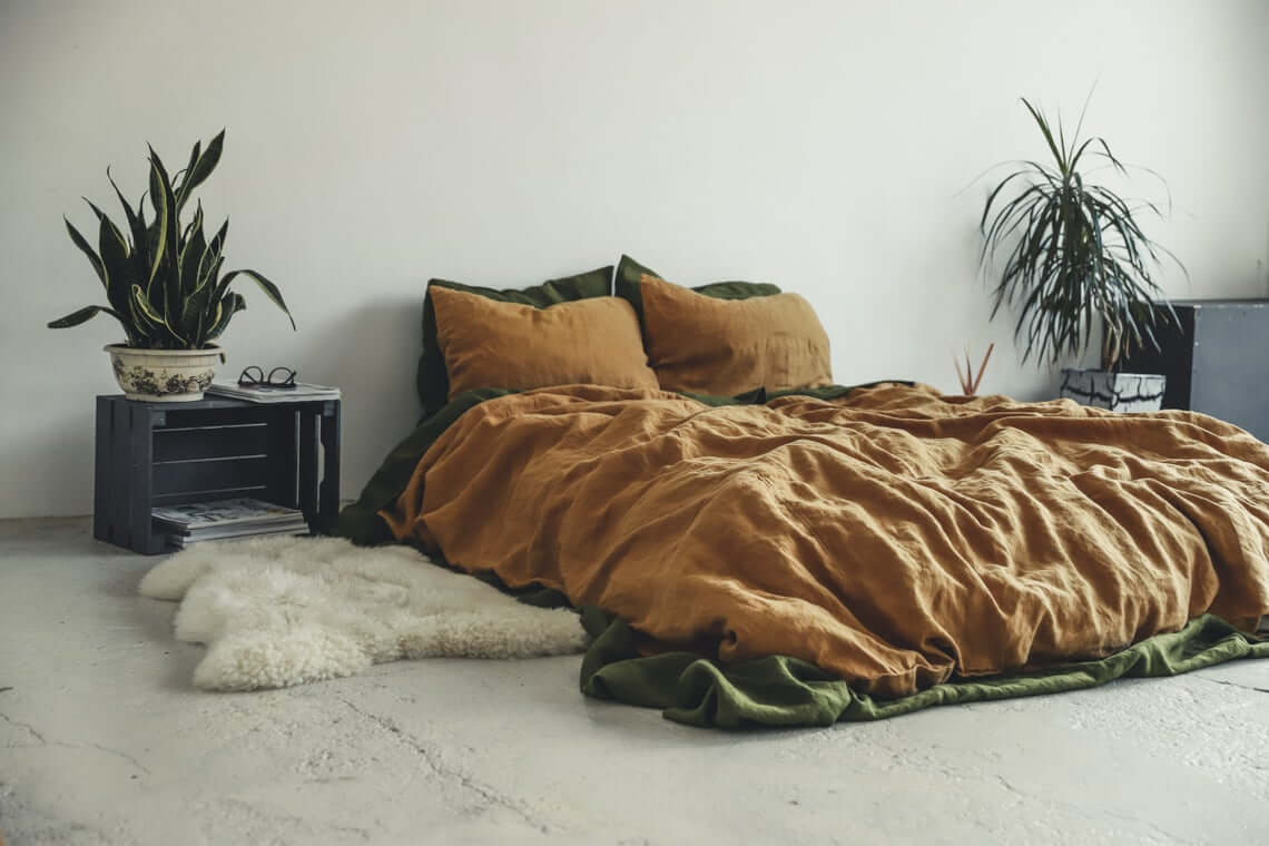 Natural and Earthy Low Profile Lounging Lair