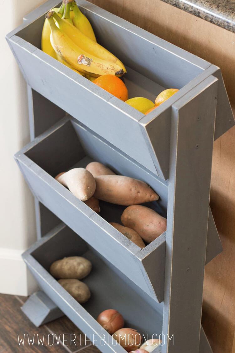 Sleek And Slide Corner Kitchen Storage