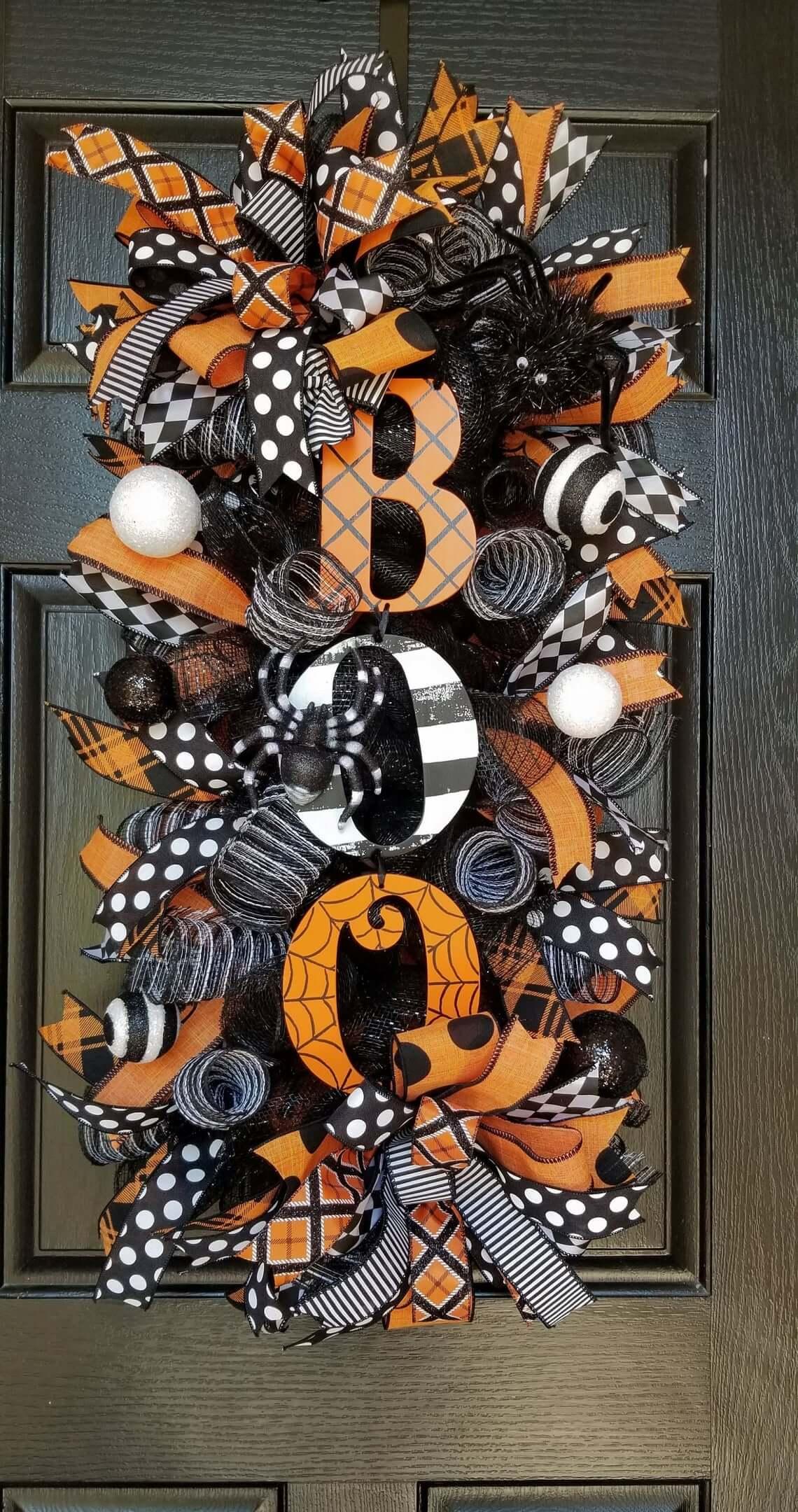 Halloween Swag/Wreath BOO Extravaganza