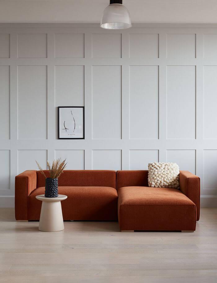 Modern Sienna Chorlton Corner Sofa