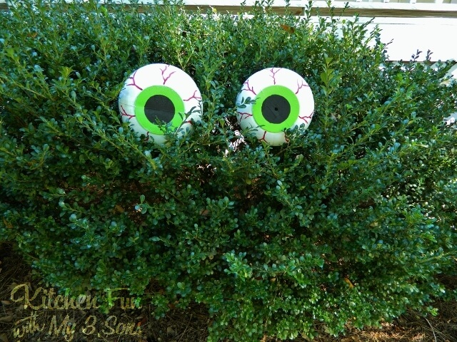 Giant Veiny Eyes for Bushes and Trees