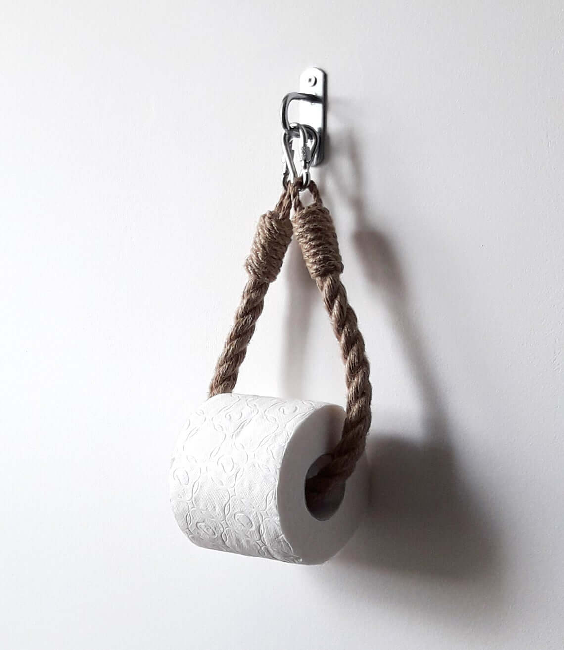 Interesting Nautical Rope Toilet Paper Holder