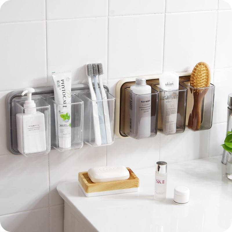 Plastic Toiletry Hangers for Brushes and Miscellaneous