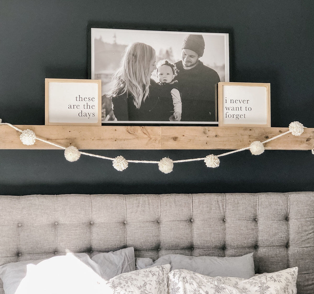 Simple and Minimal Modern Charm Master Bedroom