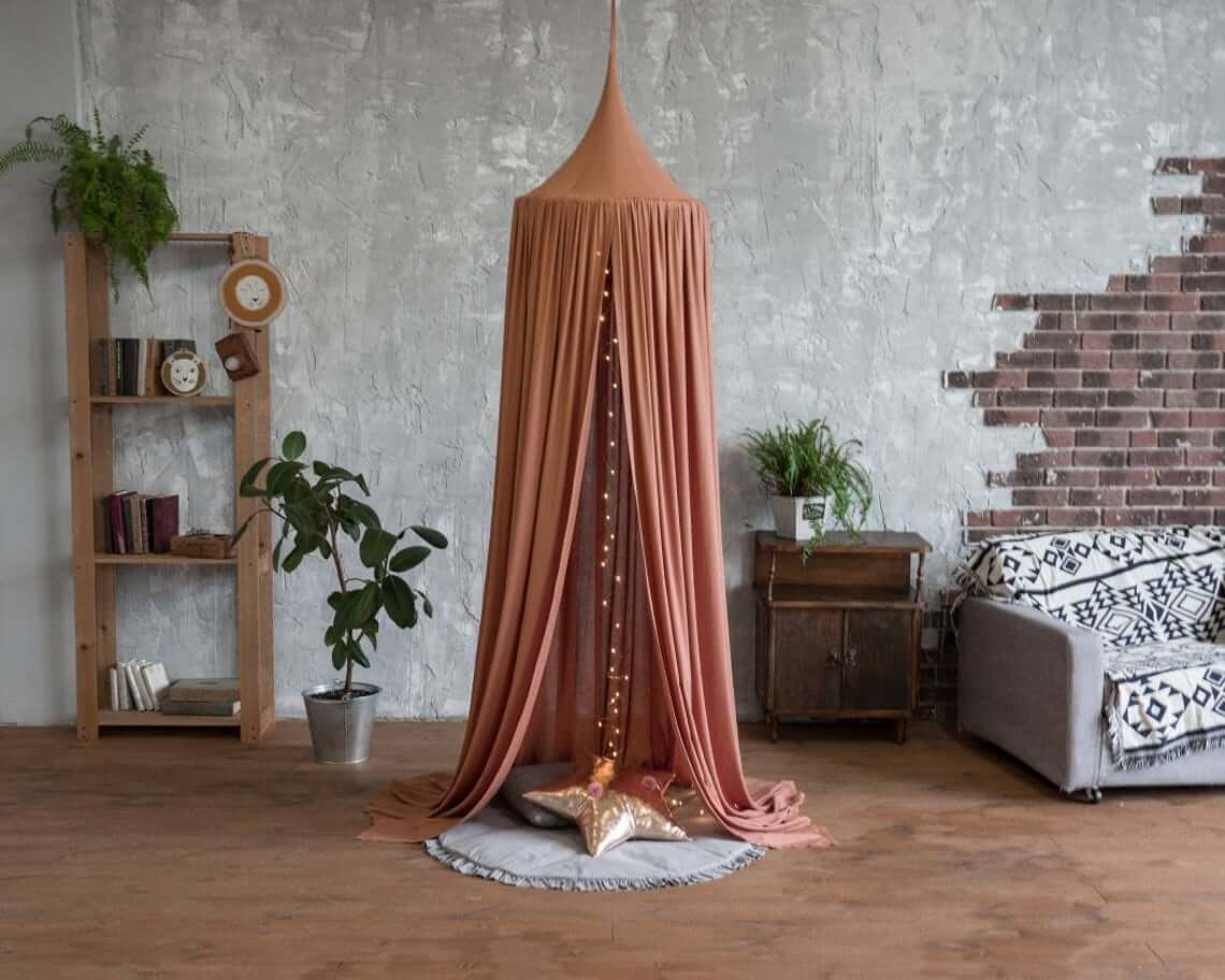 Hanging Rust Canopy Play Tent