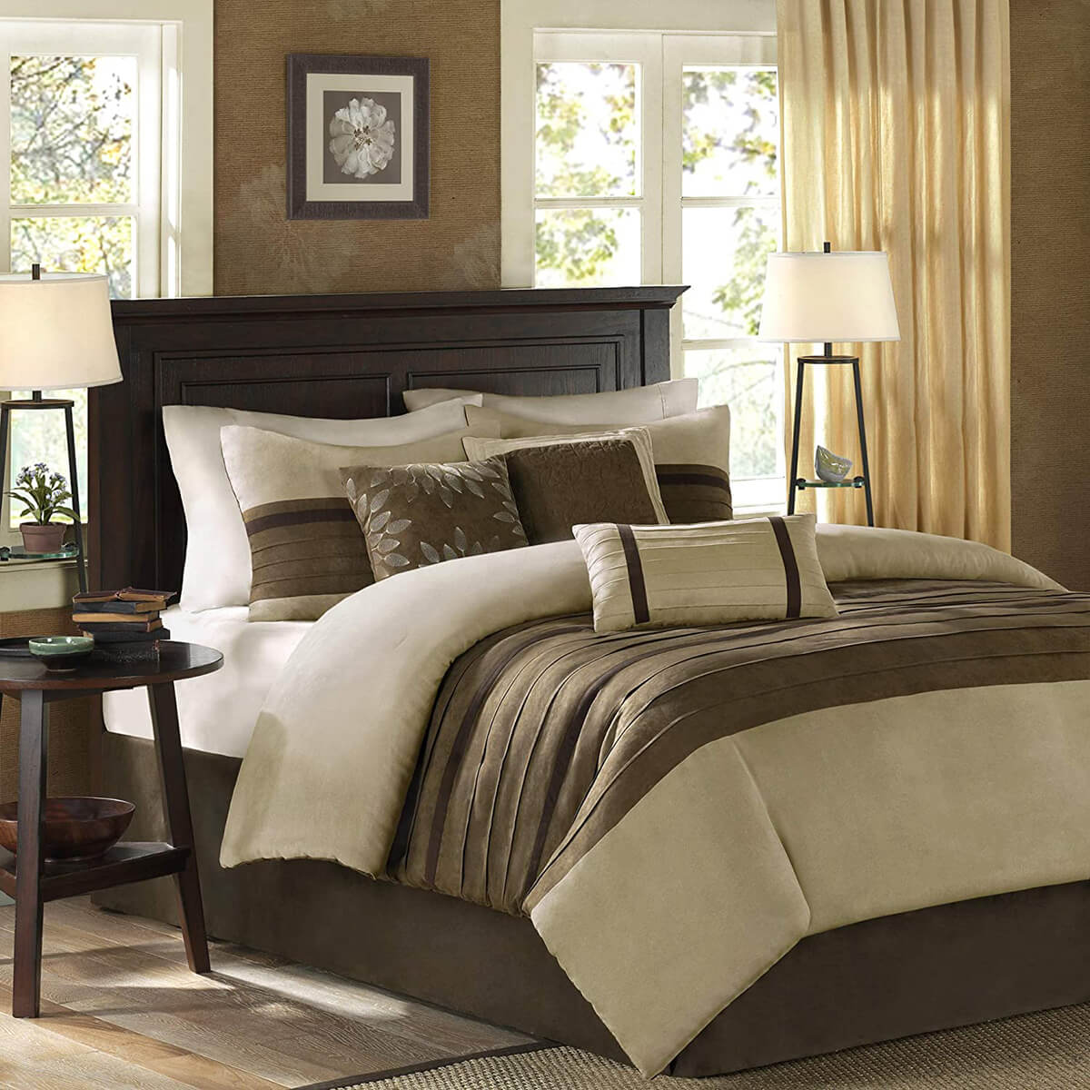 50 Shades of Brown Master Bedroom