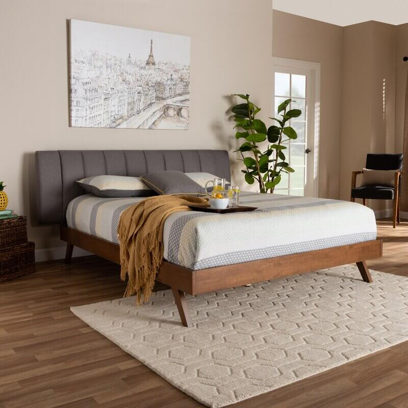 Mid-Century Modern Earth Toned City Bedroom