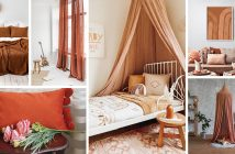Burnt Orange and Brown Home Decorations