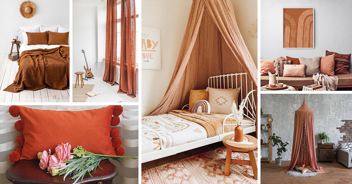 20 Best Burnt Orange And Brown Home Decor Ideas For 2021