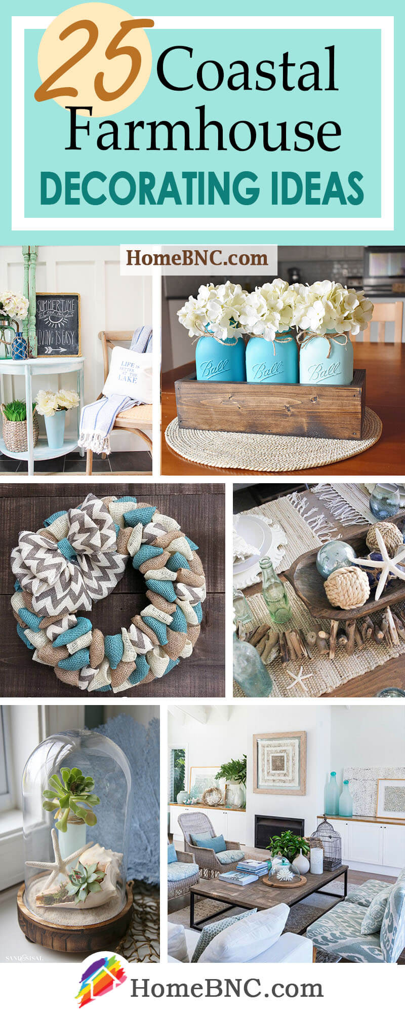 Coastal Farmhouse Decor Ideas