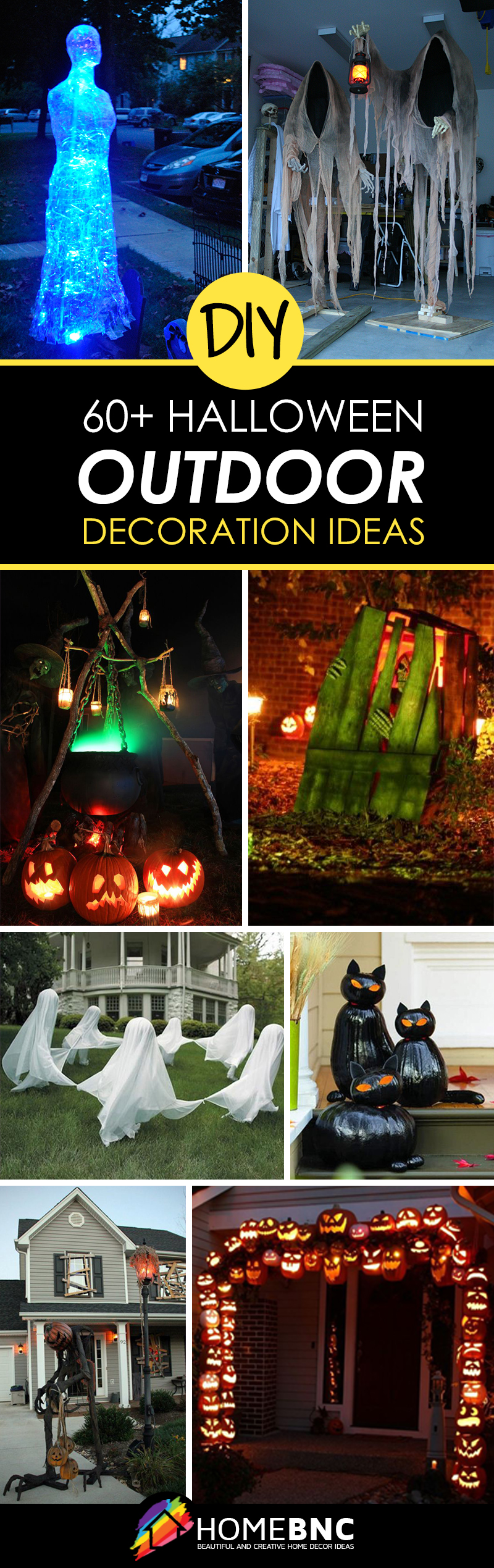 50 Best Diy Halloween Outdoor Decorations For 2020