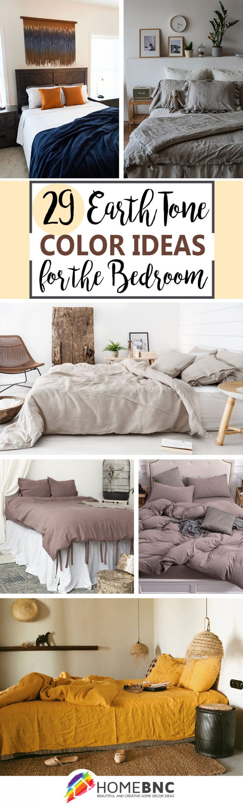 Best Earth Tone Colors for Bedroom