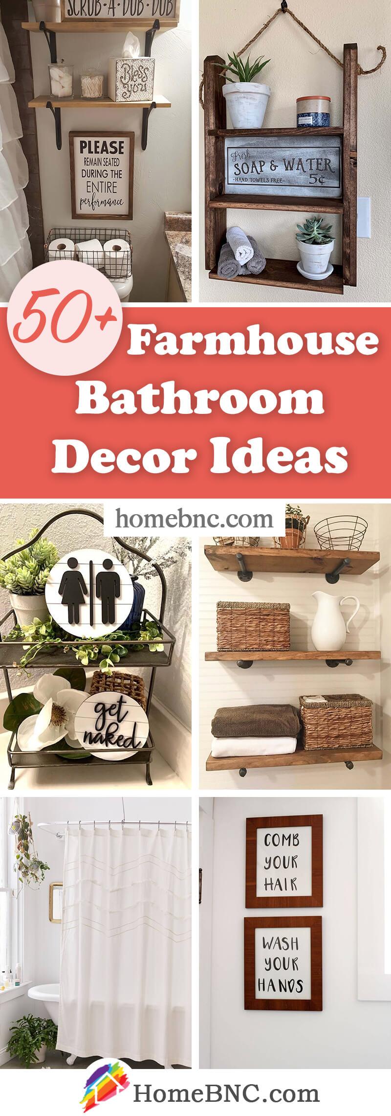 Farmhouse Bathroom Decorations