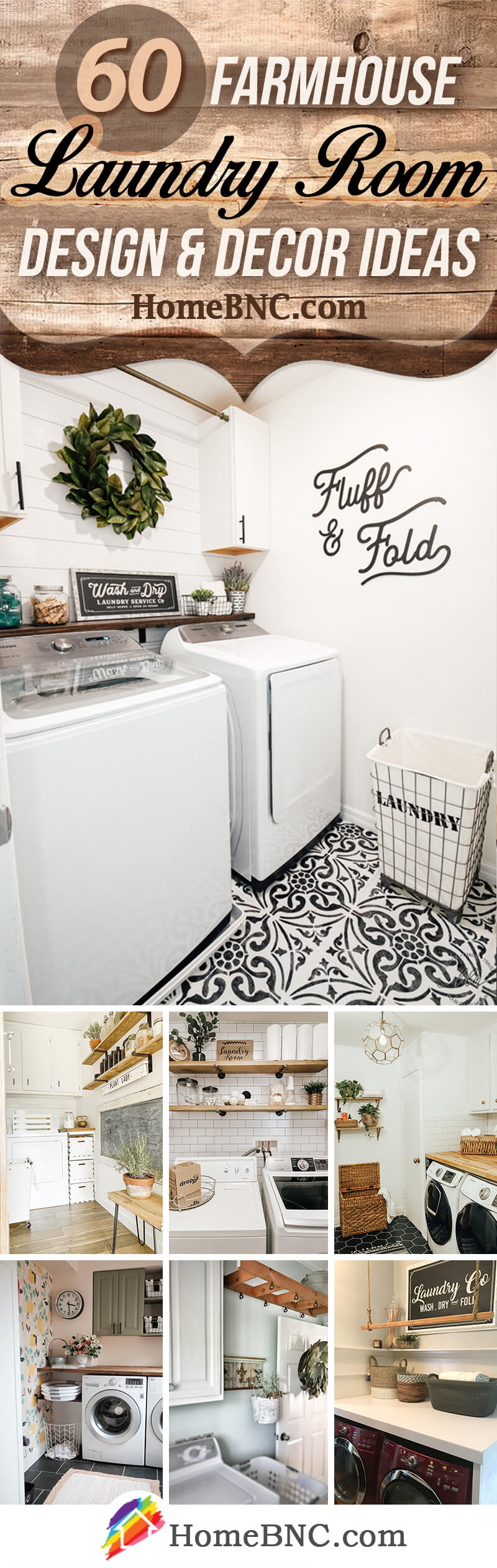 60 Best Farmhouse Laundry Room Decor Ideas And Designs For 2021