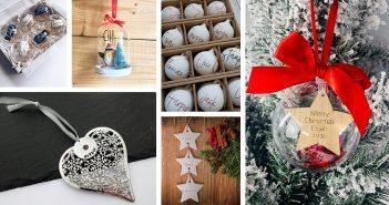 Best Personalised Christmas Bauble Ideas