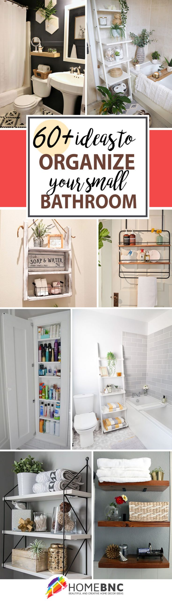 60 Best Small Bathroom Storage Ideas, Creative Bathroom Storage