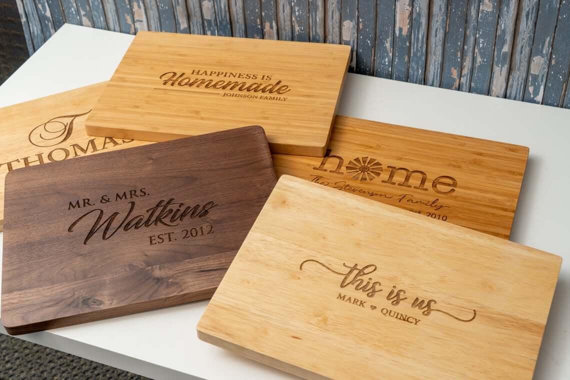 Personalized Charcuterie Boards Make a Unique Gift