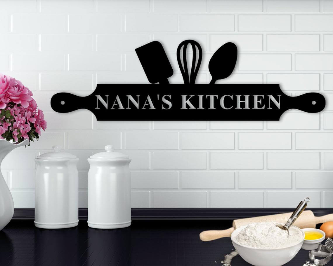 Sweet and Simple Kitchen Sign