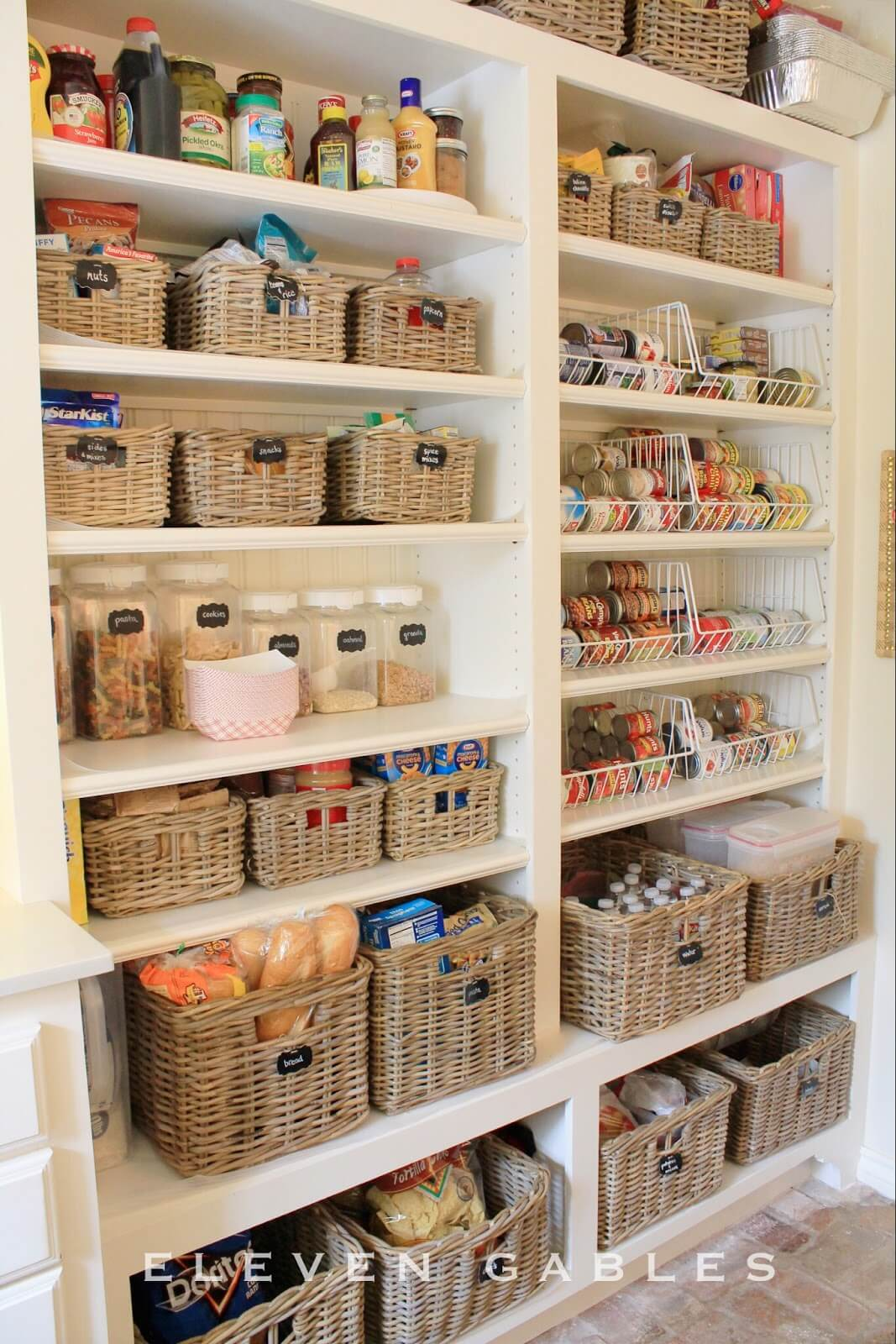 Additional Pantry Space Shelving Solution