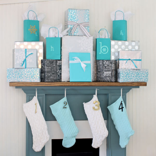 Playful Mantle Piece Gift Display