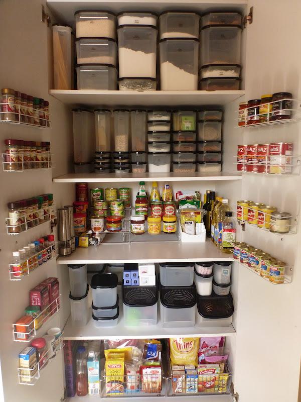 Using Organizational Items to Maximize Storage Space