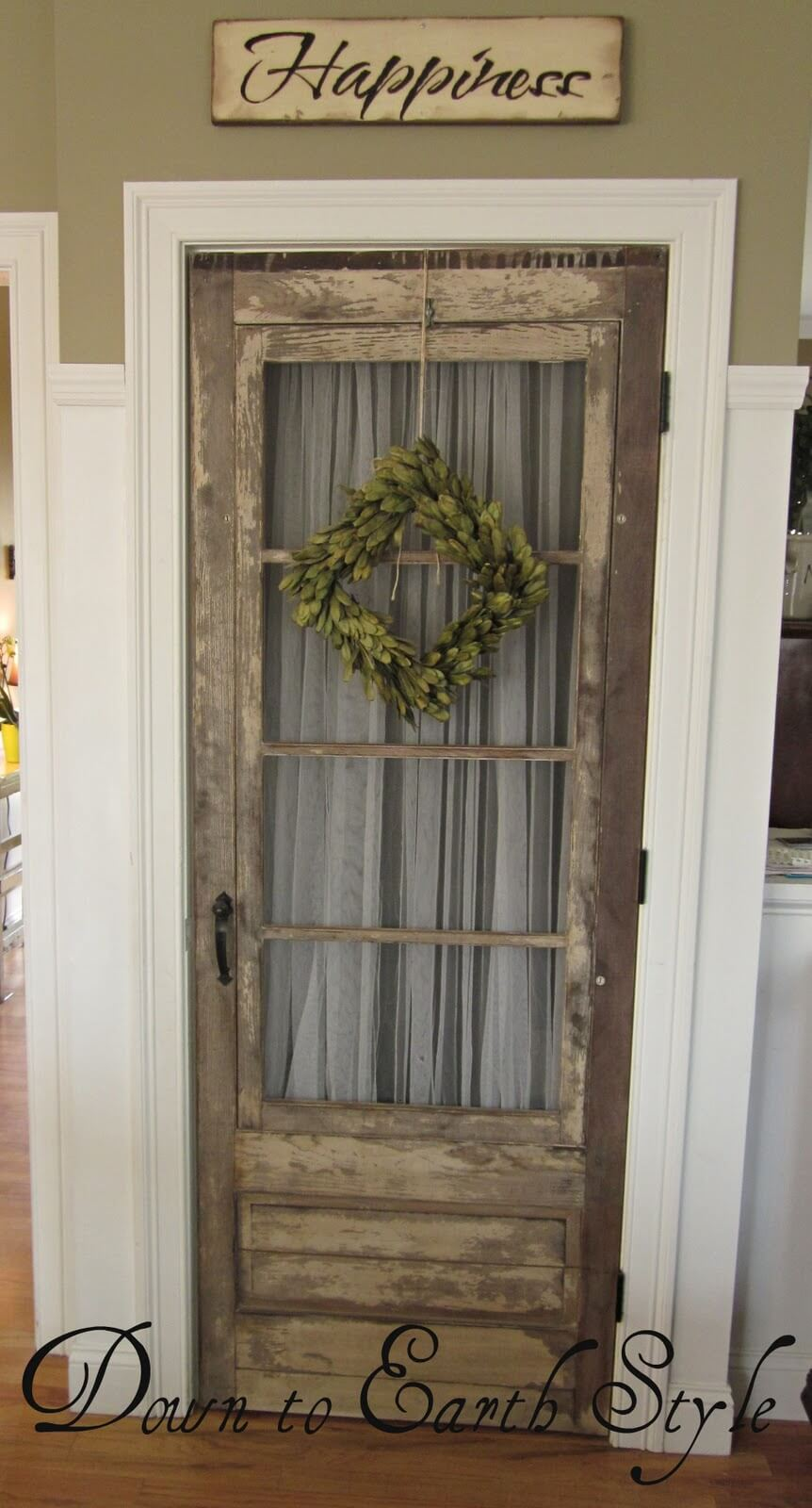 Use an Unexpected Pantry Door