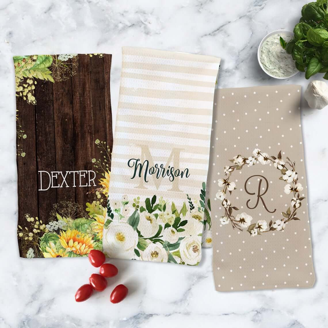 Hand Towels From the Heart