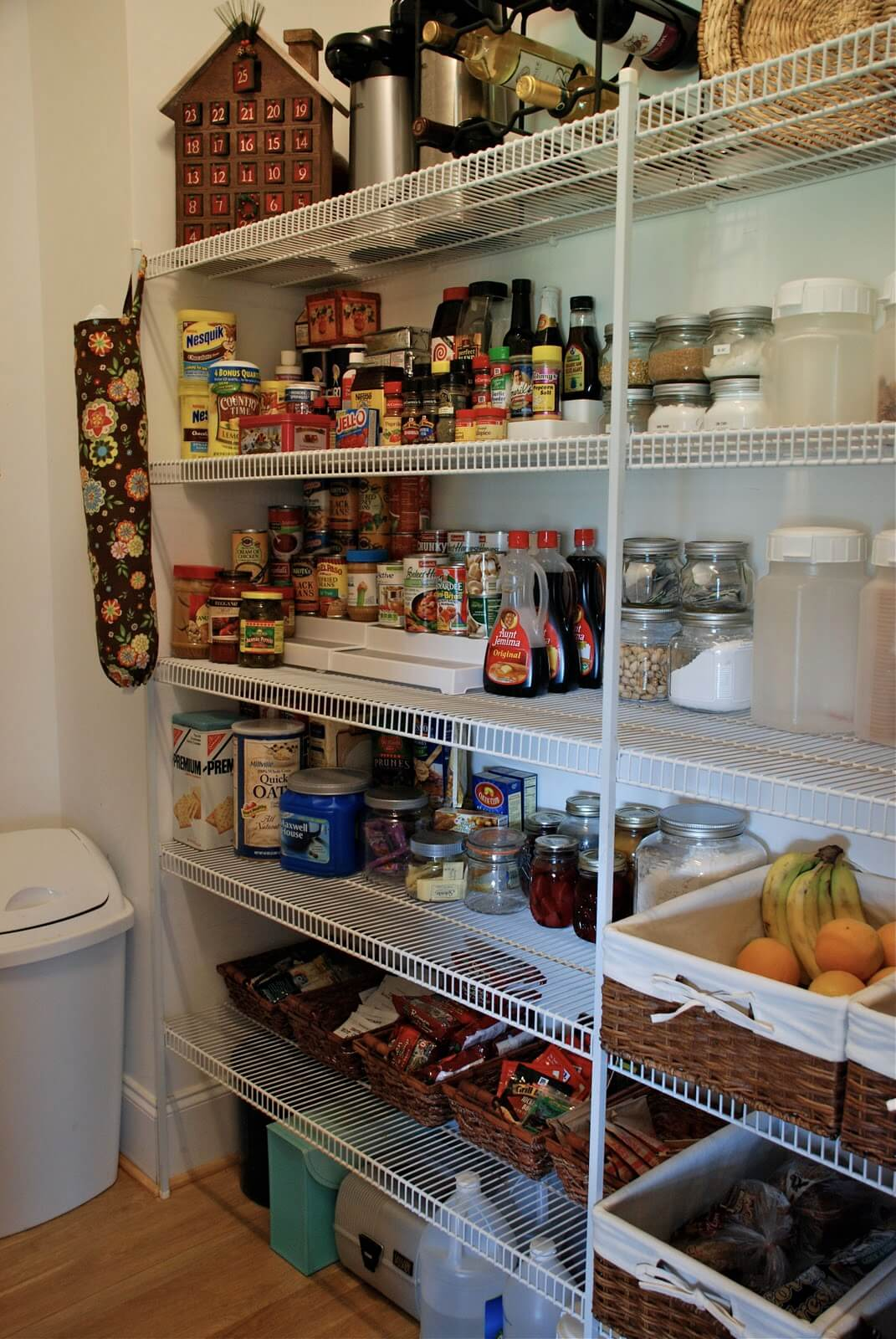 Create a Pantry Design for a Closet